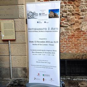 MOSTRA CNA presso la Basilica di San Lorenzo a Firenze ESCAPE='HTML'